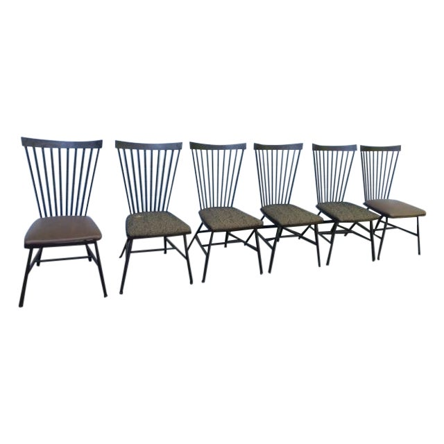 1950's Mid-Century Metal Dining Chairs - 6 - Image 1 of 11