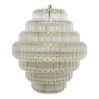 Noir Palazzo Chandelier For Sale