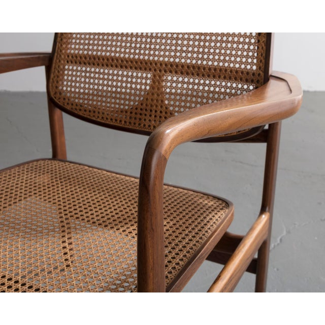 "Mid-Century Modern ""Poltrona Oscar"" chair by Sergio Rodrigues, Brazil, 1958. For Sale - Image 3 of 9"