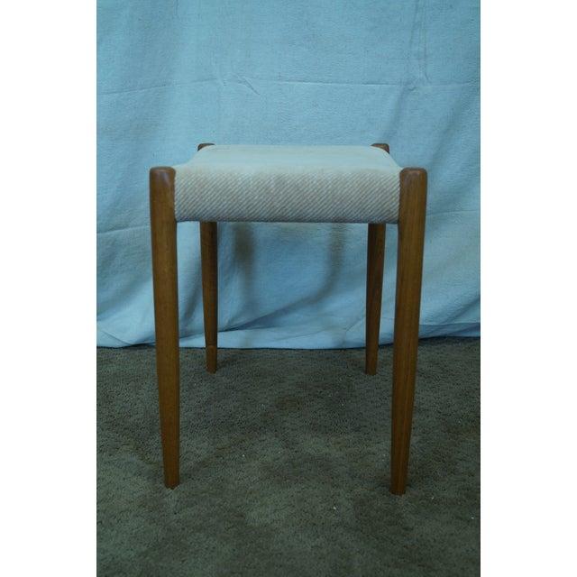 JL Moller Hojbjerg Danish Modern Teak Bench For Sale - Image 5 of 10