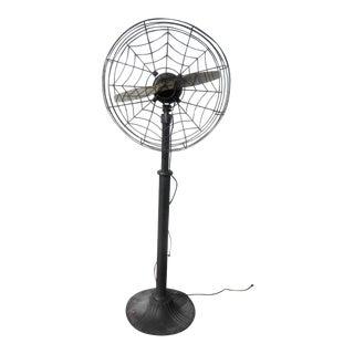 Antique Eskimo Single Propeller Spider Web Fan