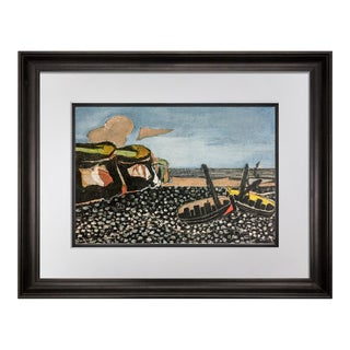 """1960s Vintage """"Les Barques Bleues"""" Limited Edition Lithograph by Georges Braque For Sale"""