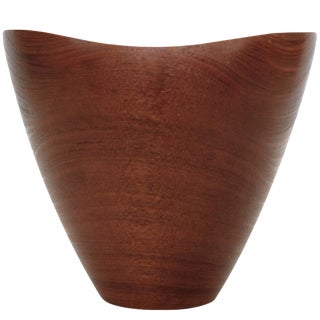 1960's Danish Hand-Turned Bowl For Sale