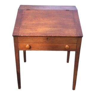 Antique American Tilt-Top Secretary Desk For Sale
