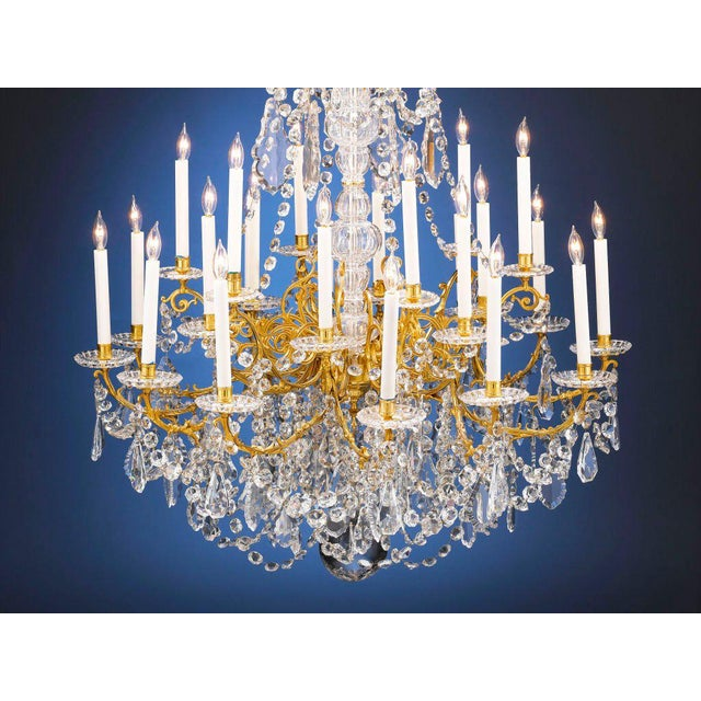 Incredible twenty four light baccarat crystal chandelier decaso twenty four light baccarat crystal chandelier image 2 of 4 aloadofball Choice Image
