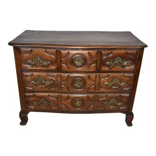 French Louis XIV Walnut Commode For Sale