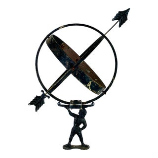 Antique Early 20th Century Danish Sundial For Sale