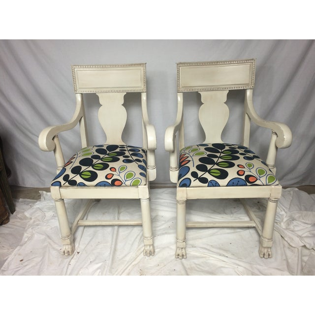Restored Empire Chairs - A Pair - Image 2 of 5
