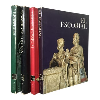 "1970s French ""El Escorial/Tower of London/Versailles/The Colosseum - Set of 4 For Sale"