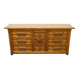20th Century Spanish Triple Door Dresser