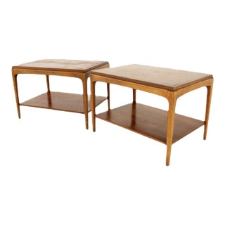 1960's Lane Rhythm Side Tables - a Pair For Sale