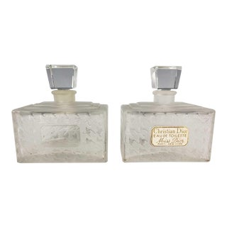"Vintage Christian Dior "" Miss Dior"" Perfume Bottles - a Pair For Sale"