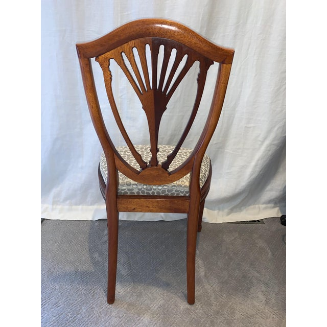 Hepplewhite Style Dining Chairs- Set of 10 For Sale - Image 6 of 13