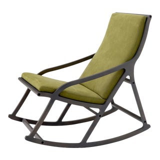 Ligne Roset Rocking Armchair Made in France For Sale