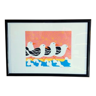 """Ann T. Cooper Artist Print """"Watching All the Gulls Go By"""" For Sale"""