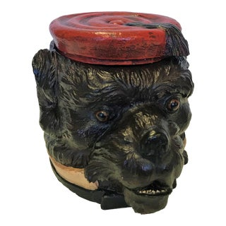 Vintage Tam O'Shanter Scottie Dog Ice Bucket/ Cookie Jar For Sale