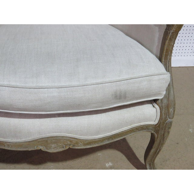 Late 20th Century French Provincial Style Porters Chair For Sale - Image 5 of 8