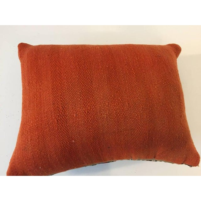 Handwoven Moroccan Tribal Berber Throw Pillow For Sale In Los Angeles - Image 6 of 10