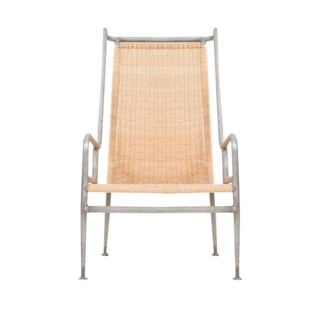 Arturo Pani Prototype Magnesium/ Aluminum Chair For Sale