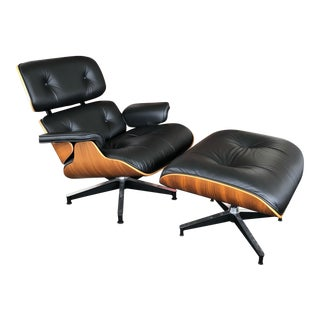 Modern Eames Lounge Chair and Ottoman by Herman Miller For Sale