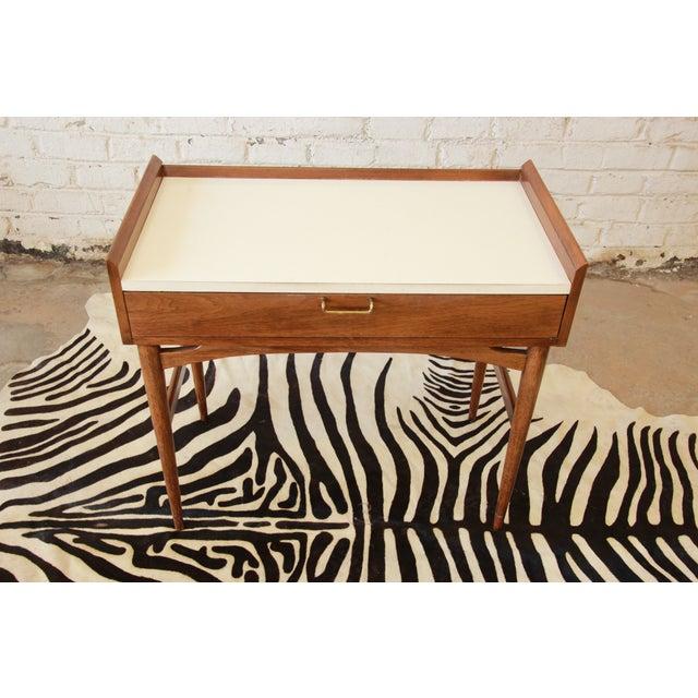 Merton Gershun Mid-Century Modern Desk - Image 5 of 11