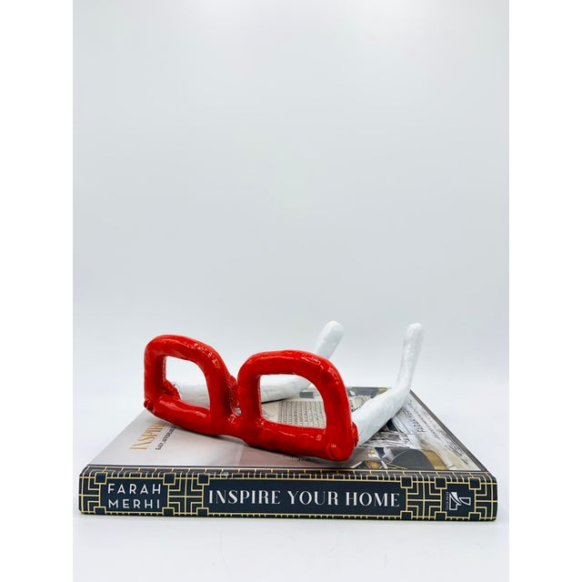 Mid Century Modern Monumental Reading Glasses For Sale - Image 9 of 11