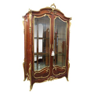 Signed Francois Linke Louis XV Cabinet For Sale