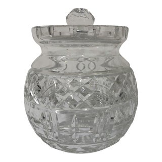 Waterford Lismore Round Biscuit Barrel For Sale