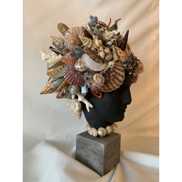 Magical Hygiea, Greek Goddess of Health and Wellbeing. Decorated with extraordinary shells, rare rock formations and Rock...