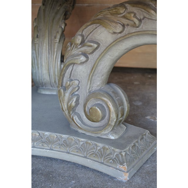 Acanthus Carved Italian Coffee Table - Image 6 of 9