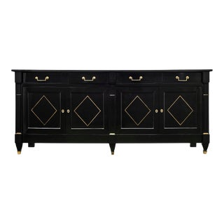 Directoire French Ebonized Buffet For Sale