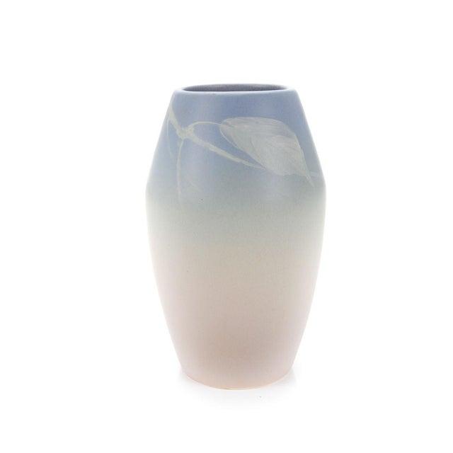 Exquisite C1905 Weller Pottery Floral Motif Vase Decaso