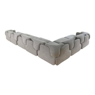Confidential' Sectional Sofa by Alberto Rosselli for Saporiti For Sale