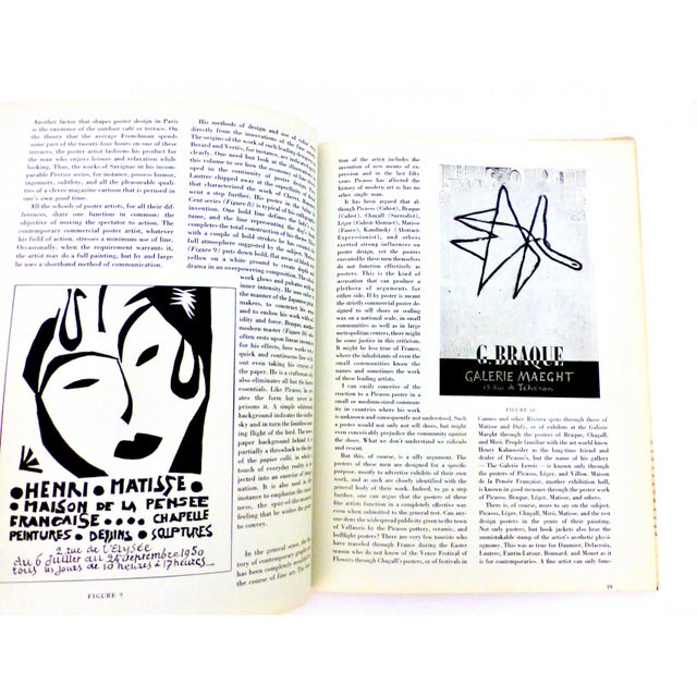 1964 Book, The Posters of Picasso, Illustrated For Sale - Image 10 of 13