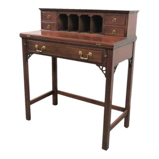 Frederick Duckloe Cherry Writing Desk For Sale