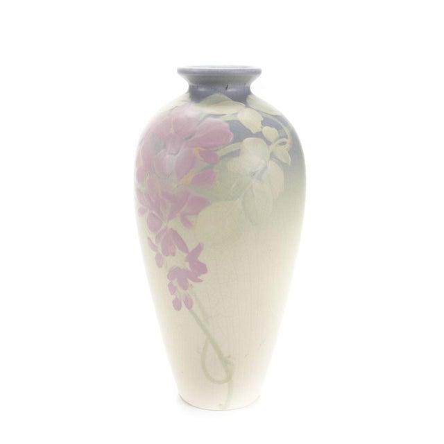Weller Hudson Art Nouveau Pastel Vase - Image 1 of 6