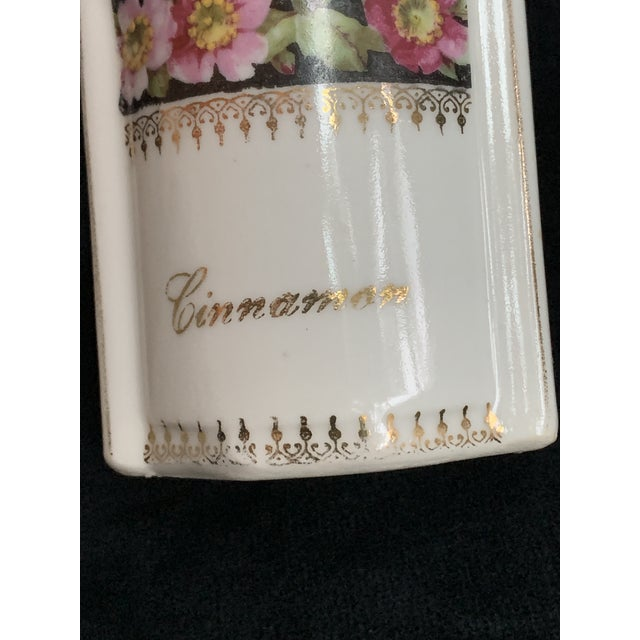 Art Nouveau L & R Germany Spice Condiments Jars Set of 3 For Sale In Miami - Image 6 of 13