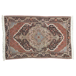 "Fine Josan Sarouk Area Rug - 3'3"" X 5'3"" For Sale"