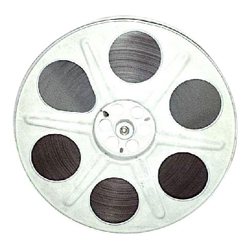 Iconic Authentic 35mm Motion Picture Antique Movie Reel With 35mm Film For Sale