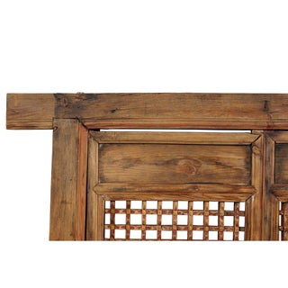 Antique Chinese Framed Window Panel Preview