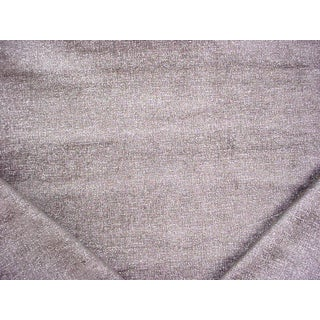 Contemporary Kravet Couture Asterism Iron Metallic SilveVelvet Upholstery Fabric - 2-1/8y For Sale
