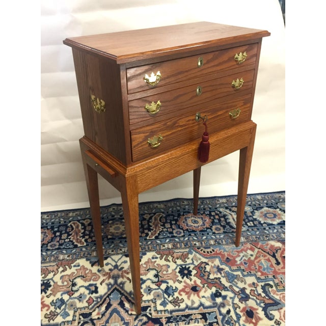 """This piece of furniture is circa 1995, when my parents moved to Mercer Island and Mom wanted """"All NEW"""" with a classic..."""