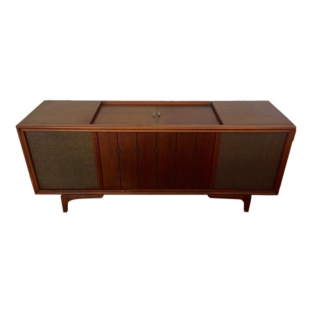 Mid Century Rca Victor Stereo Hi-Fi Cabinet Unit For Sale
