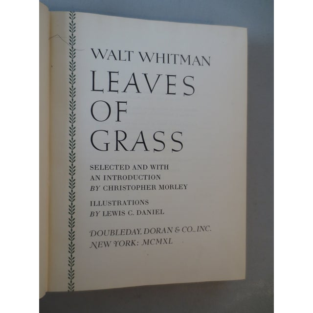 Leaves of Grass Book by Walt Whitman - Image 5 of 7