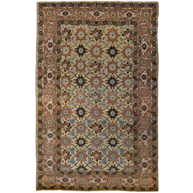 Antique Persian Tabriz Rug For Sale