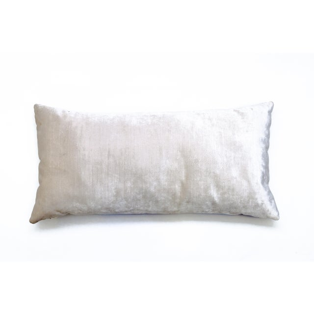 Beacon Hill Faux Leather Lumbar Pillow - Image 3 of 3