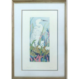 "Judith Hall ""The Rookery"" Intaglio Print For Sale"
