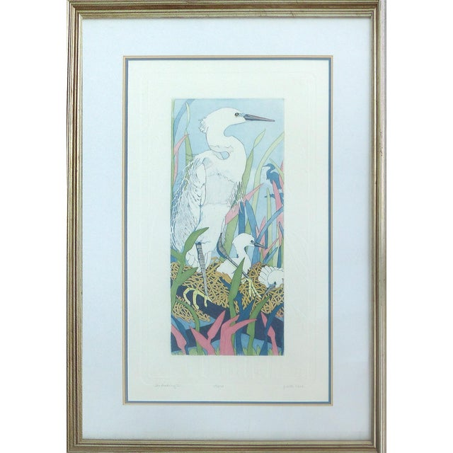 """Judith Hall """"The Rookery"""" Intaglio Print For Sale"""
