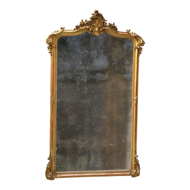 19th Century Mirror For Sale - Image 4 of 4