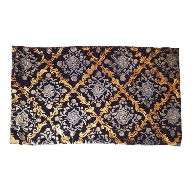 Shah Jhahan Silk Velvet Pillow Cover For Sale